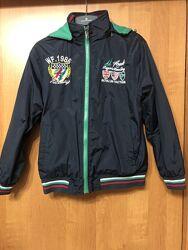 Куртка двухсторонняя на 9-10 лет