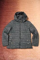 Женская темно-зеленая демисезонная куртка Colin&acutes размер М
