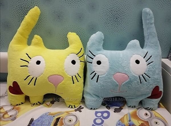 Подушки котики обнимашки