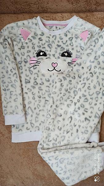 Флисовая пижама H&M 7-8 лет
