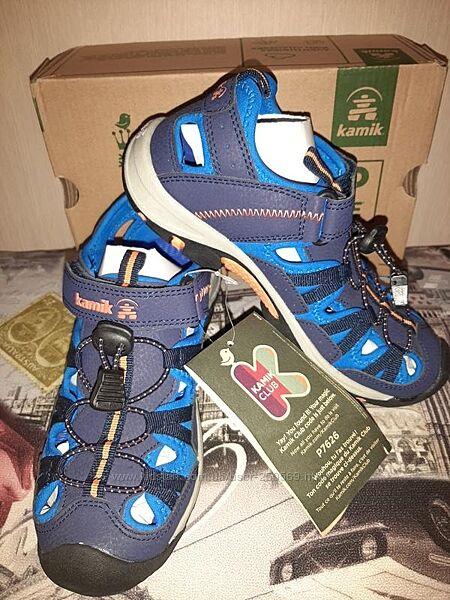 Треккинговые сандали для мальчика Kamik.100оригинал. Англия. р35