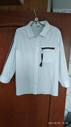 Продам школьную рубашку для девочки