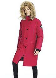 Пуховик - парка Alpinetek Womens Long Down Parka Coat