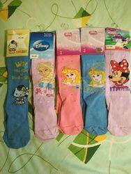 Колготки, носки для девочек. Кребо. Дисней. Наличие