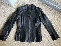 Кожаный пиджак куртка жакет Dolce and Gabbana D&G оригинал