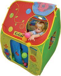 большой Ks Kids Дом палатка магазин киоск с мячами, игровой матрас подушки