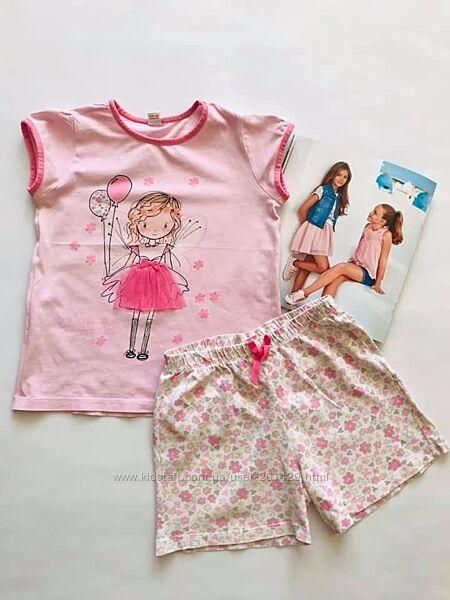 Фея и волшебная палочка - пижама - LC Waikiki - футболка и шорты р122/134