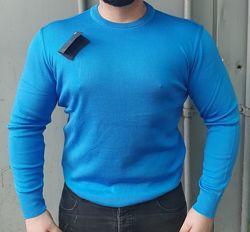 Мужской теплый шерстяной свитер, 70 шерсть и 30 акрил, Турция, качество
