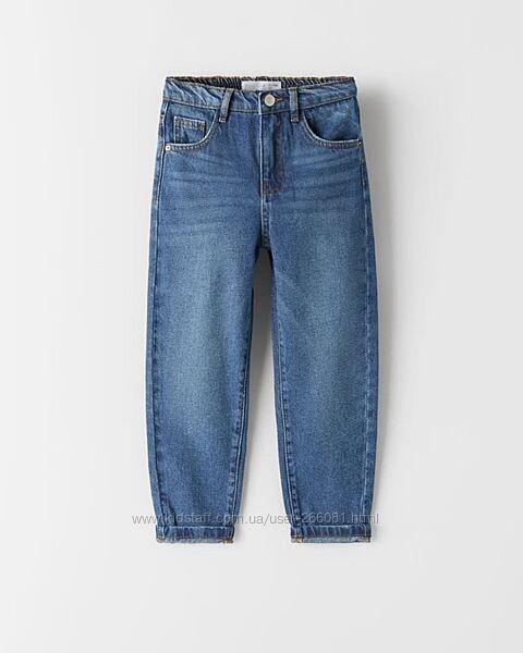 джинсы мом для девочки, джинси мом для дівчинки, zara, 152 см, 11, 12, лет
