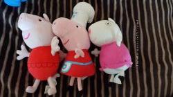 Игрушки мягкие свинка пеппа Peppa pig оригинал и ее подружка овечка Сьюзи