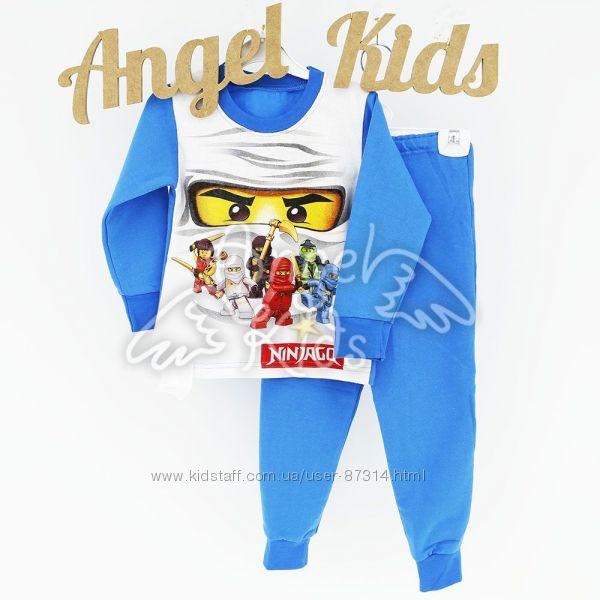 Пижамки с Ниндзяго начес