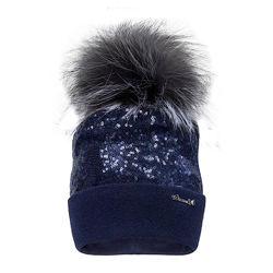 Зимняя шапочка из шерсти