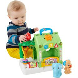 Игрушка Зоопарк  с животными Fisher-Price Laugh and Learn Smart Stages Acti