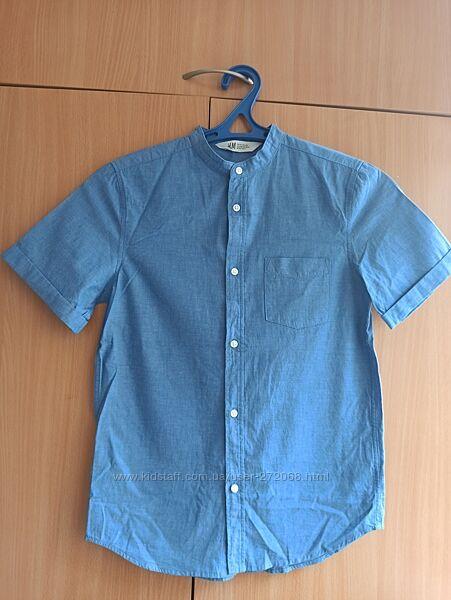 Продам рубашку с коротким рукавом H&M 11-12 лет