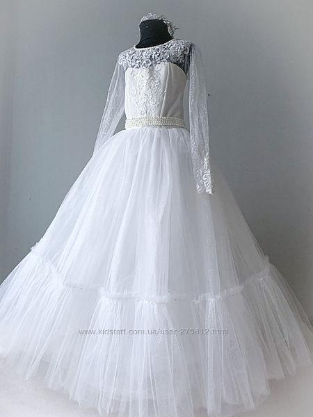 Нарядное роскошное платье 4 класс