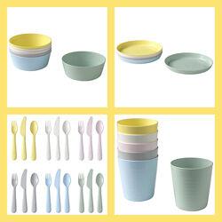 Детская посуда, Kalas Ikea посуда для пикника