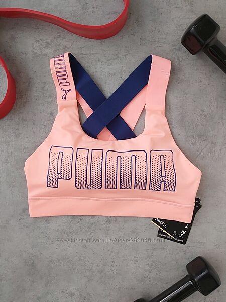Спортивный топ PUMA с красивой спинкой р-р S