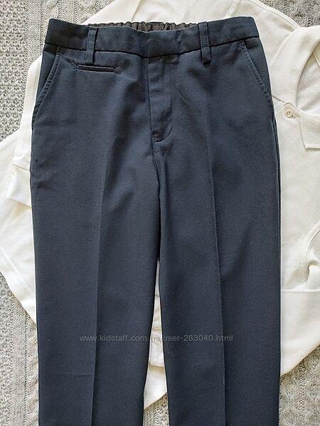 Школьные брюки Marks & Spencer на 8 - 9 лет на высокого мальчика