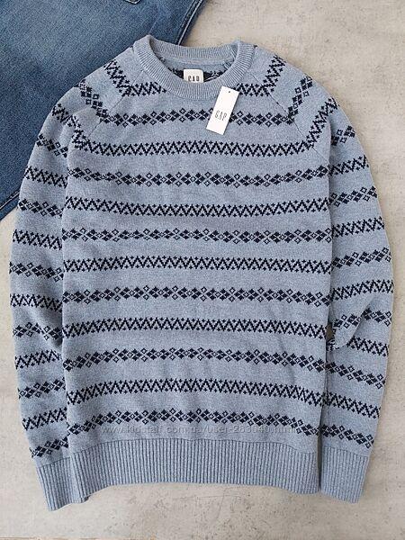 Хлопковый свитер Gap р. М 48