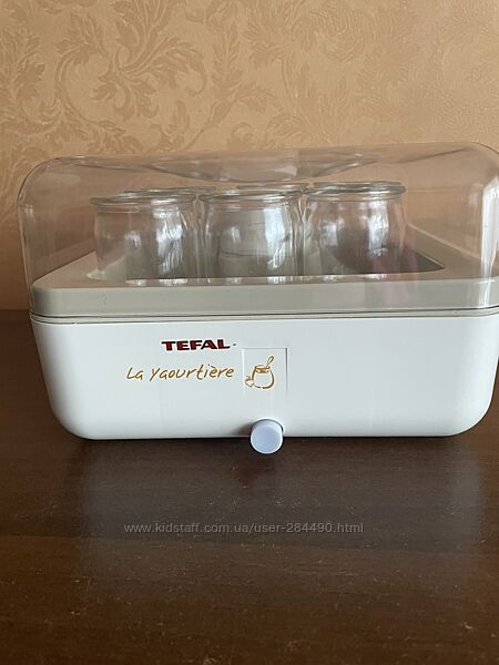 Йогуртница TEFAL в идеальном состоянии