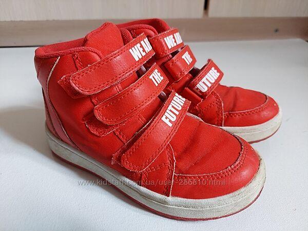 H&M ботиночки 28 размер, стелька 17.8 см. Текстиль. Демисезон.