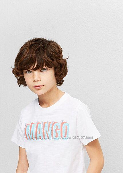 Футболки мальчикам mango 4-8 лет
