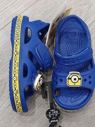 босоножки crocs для мальчика оригинал размеры с6